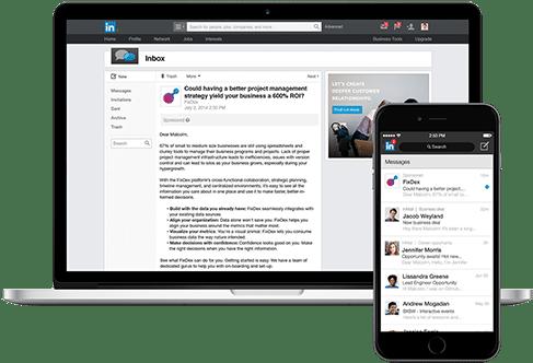 sponsored inmail - linkedin para empresas