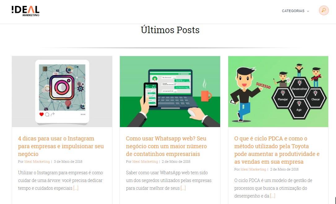 blog ideal marketing