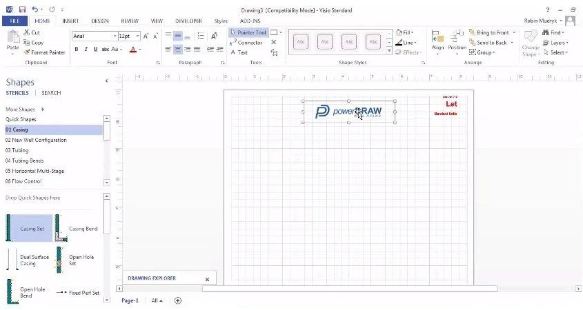 Power Draw - como desenvolver logomarca