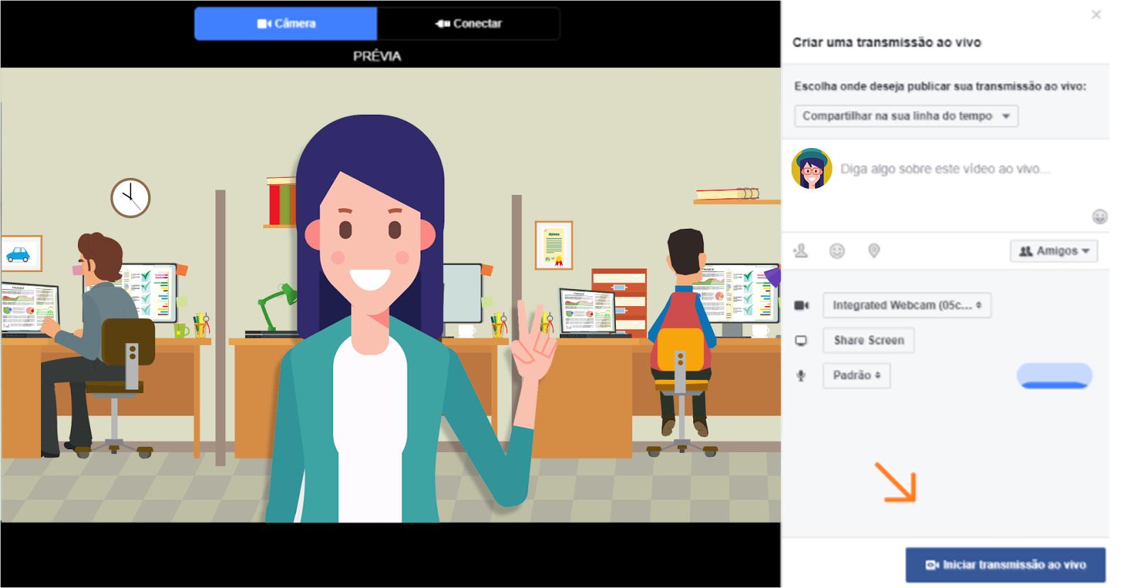 Facebook live - tutorial
