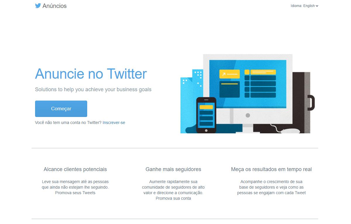 como funciona o twitter ads