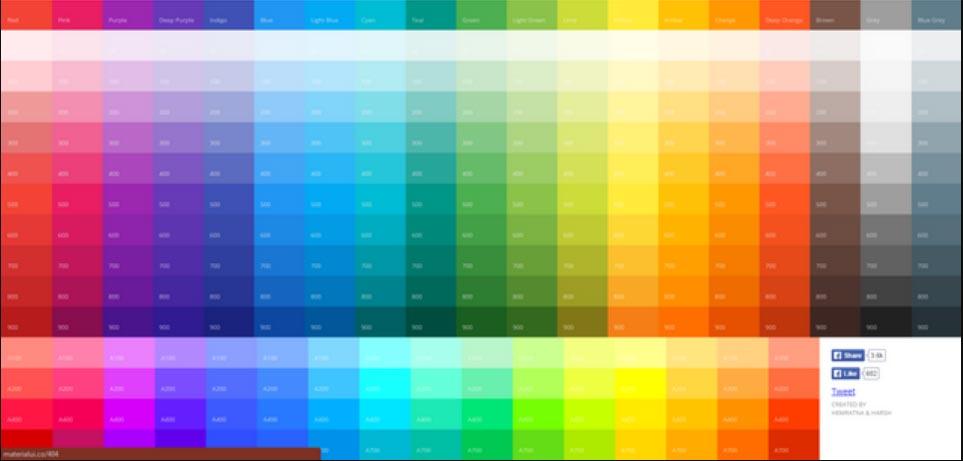 cores para um cta
