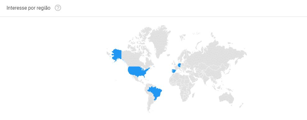 interesse por regiao - google tendencias brasil