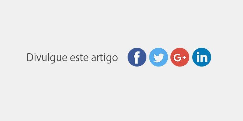 redes sociais cta