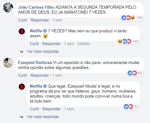 Comentários Netflix