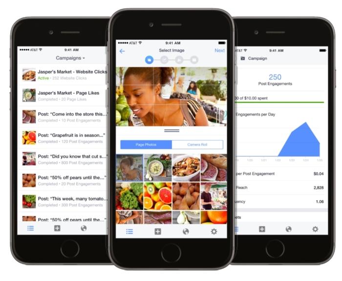 Administre suas campanhas em qualquer lugar com o aplicativo do gerenciador de anúncios do Facebook Business