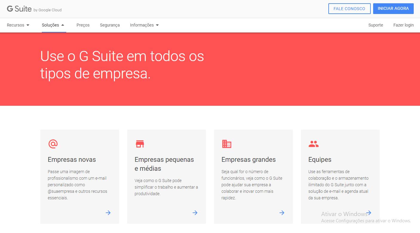 Conheça uma das ferramentas do Google, o G Suite