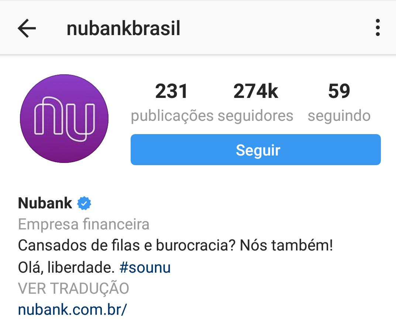 Como vender pelo Instagram - Nubank
