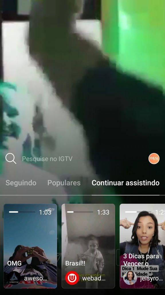 Aba 4 - IGTV