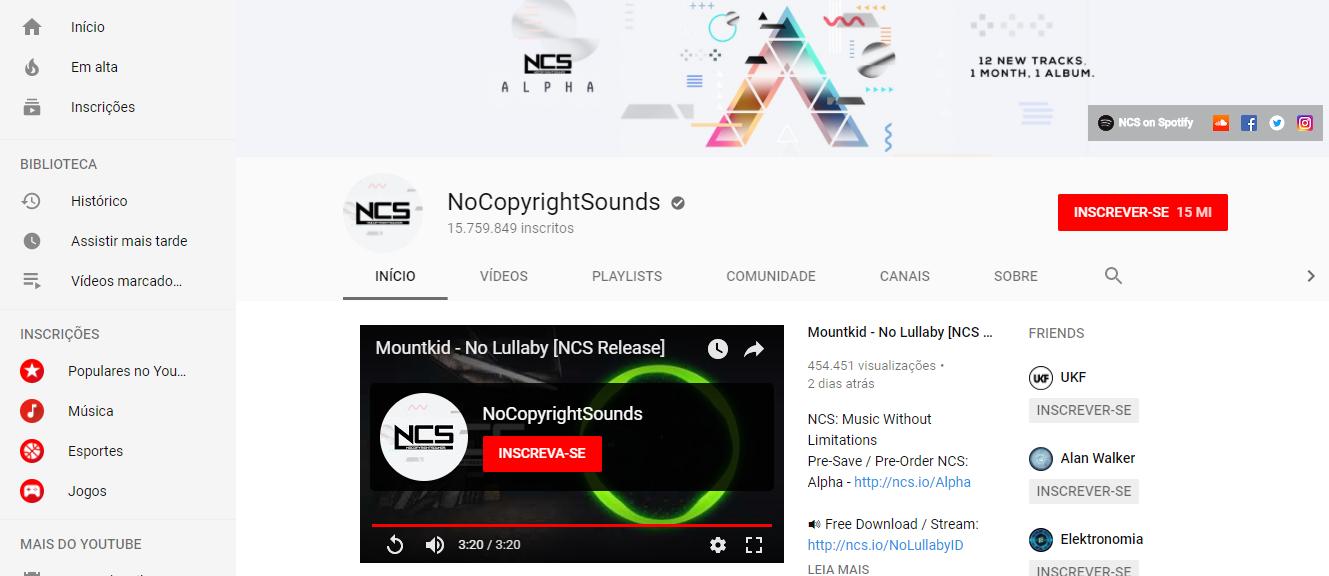 Conheça o banco de músicas para vídeos No Copyright Sounds