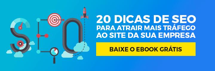 [E-Book Grátis] 20 dicas matadoras de SEO para o sucesso do seu site em 2019