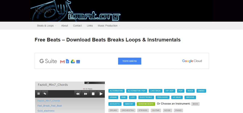 Conheça o banco de músicas para vídeos iBeat
