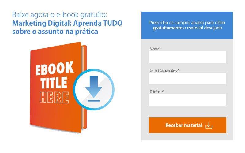 Seja objetivo ao criar sua landing page com ajuda do conceito do que é marketing de conteúdo