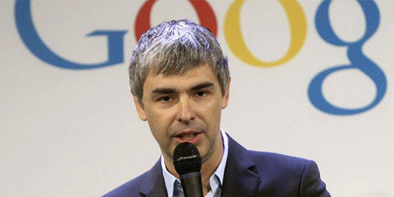 maiores empreendedores do mundo-Larry Page