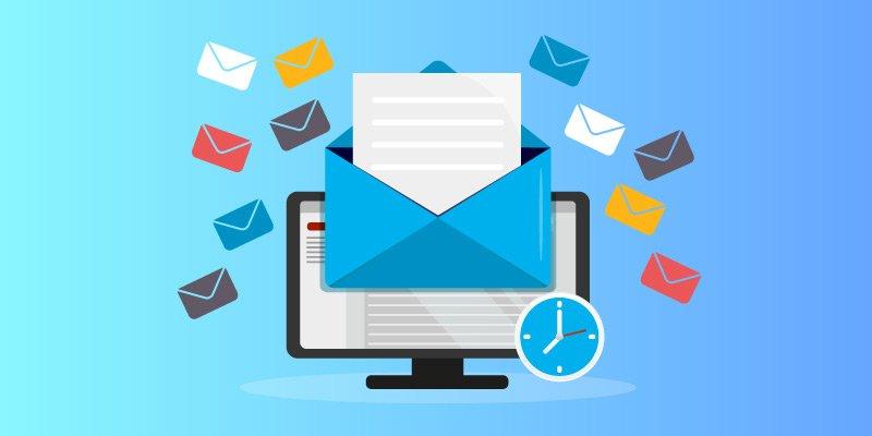Definina a periodicidade de envio de emails