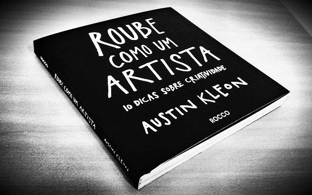 livros de negócios roube como um artista
