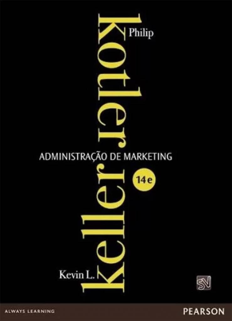 Leia livros para saber mais sobre administração de marketing