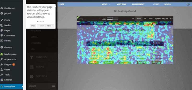 Veja como o conceito de o que é mapa de calor funciona na prática