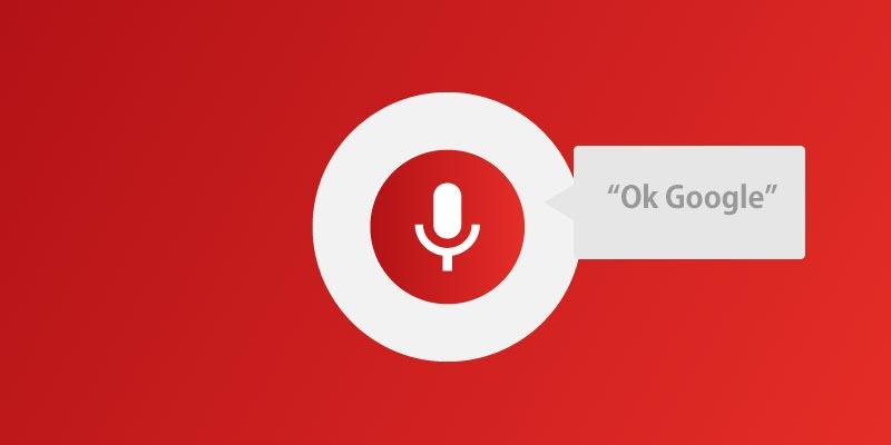 pesquisa por voz google