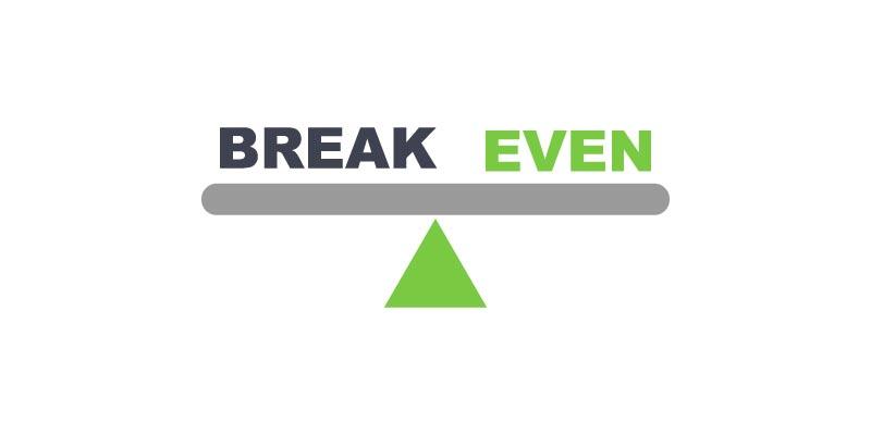 Colocando o break even em prática