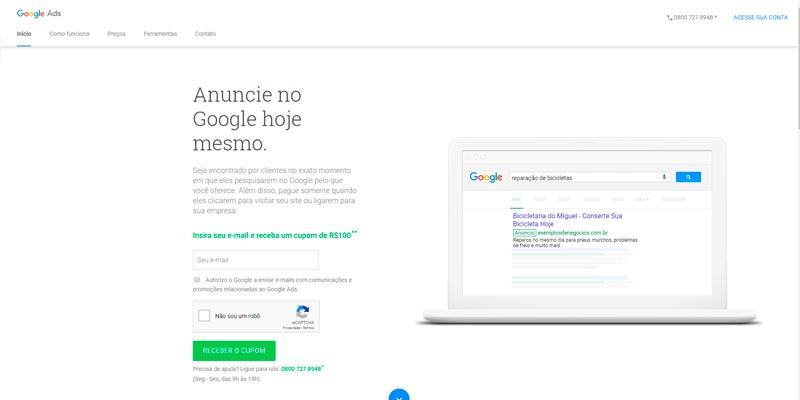 Descubra como anunciar no Google AdWords