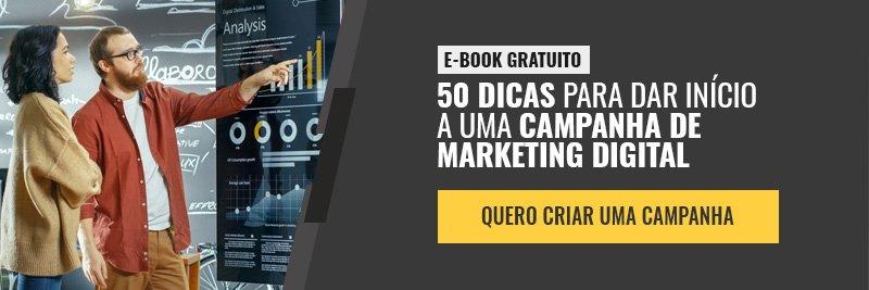 E-book - 50 dicas para dar início a uma campanha de marketing digital