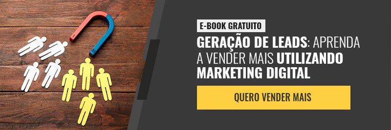 E-book - Geração de leads: aprenda a vender mais utilizando marketing digital