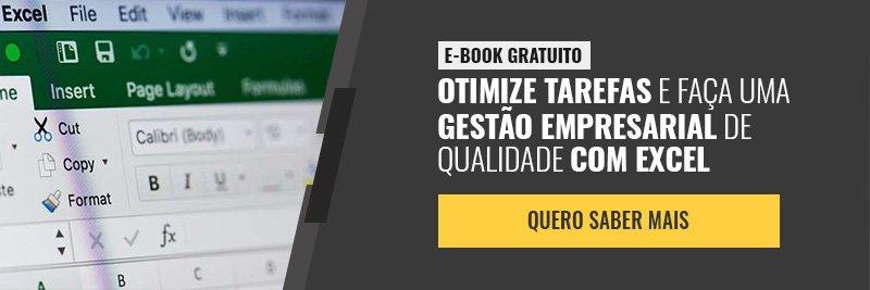 E-book - Otimize tarefas e faça uma gestão empresarial de qualidade com excel