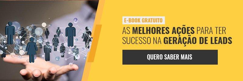 E-book - As melhores ações para ter sucesso na geração de leads