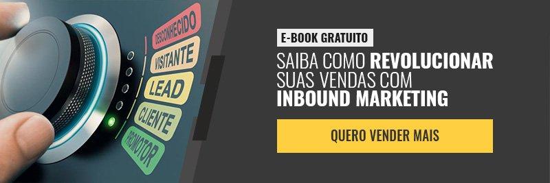 E-book - Como revolucionar suas vendas com inbound marketing