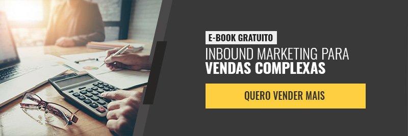 E-book - Inbound marketing para vendas complexas