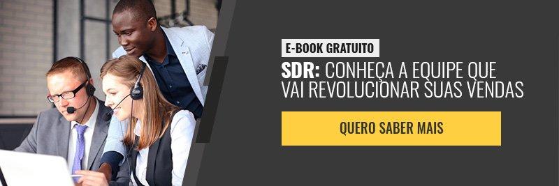 E-book - SDR: a equipe que vai revolucionar suas vendas