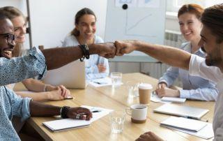 Cultura colaborativa de uma empresa