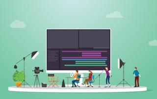 produção de vídeos para web